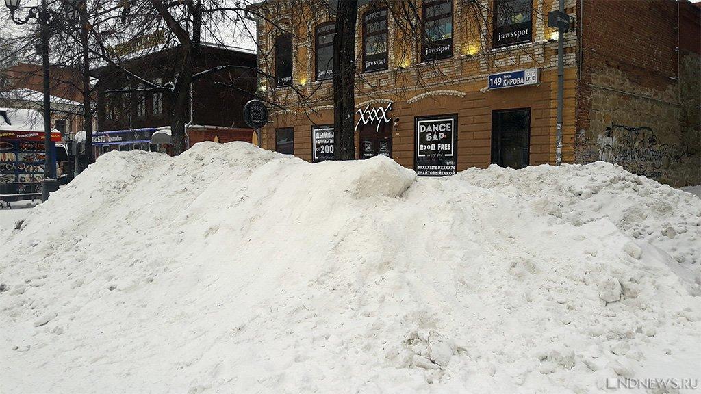Мер Челябинска не заметил снежного коллапса и даже поблагодарил дорожников!