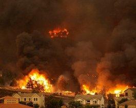 В Челябинской области на пожарах погибли полторы сотни человек