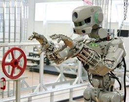 Робот «Федор» после приземления отказался включаться